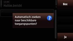 Nokia N97 Mini - MMS - Handmatig instellen - Stap 8