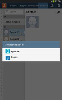 Samsung T315 Galaxy Tab 3 8-0 LTE - Contacten en data - Contacten kopiëren van SIM naar toestel - Stap 7