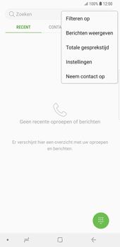 Samsung Galaxy S9 Plus - Voicemail - Handmatig instellen - Stap 5