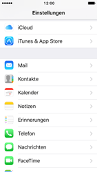 Apple iPhone 5s iOS 10 - E-Mail - Manuelle Konfiguration - Schritt 3