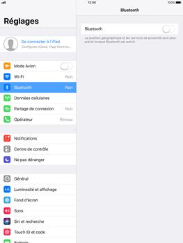 Apple iPad Pro 9.7 - iOS 11 - Bluetooth - connexion Bluetooth - Étape 6