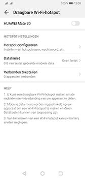 Huawei Mate 20 - Internet - Stel mobiele hotspot in - Stap 9
