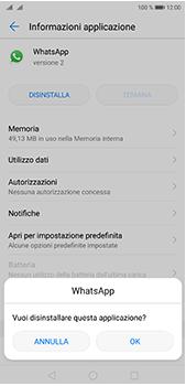 Huawei P20 Pro - Applicazioni - Come disinstallare un