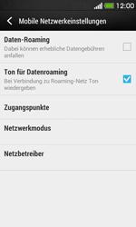 HTC Desire 500 - Netzwerk - Netzwerkeinstellungen ändern - Schritt 5