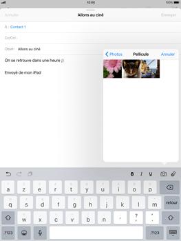 Apple iPad Air iOS 11 - E-mail - envoyer un e-mail - Étape 9