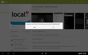 Sony Xperia Tablet Z LTE - Apps - Installieren von Apps - Schritt 9