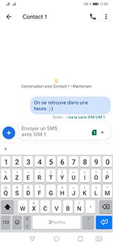 Huawei Mate 20 Pro - Contact, Appels, SMS/MMS - Envoyer un SMS - Étape 10