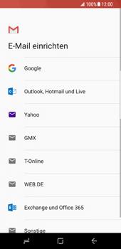 Samsung Galaxy S8 - E-Mail - Konto einrichten (gmail) - 8 / 18
