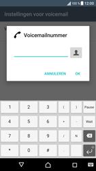 Sony Xperia XA - Voicemail - Handmatig instellen - Stap 8