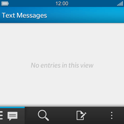 BlackBerry Q10 - MMS - Manual configuration - Step 3