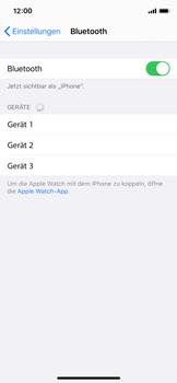 Apple iPhone X - iOS 13 - Bluetooth - Verbinden von Geräten - Schritt 7