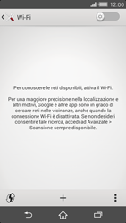 Sony Xperia Z2 - WiFi - Configurazione WiFi - Fase 5