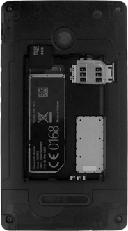 Microsoft Lumia 532 - SIM-Karte - Einlegen - Schritt 3