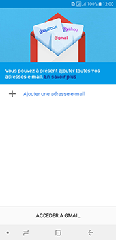 Samsung Galaxy A6 - E-mails - Ajouter ou modifier votre compte Gmail - Étape 6