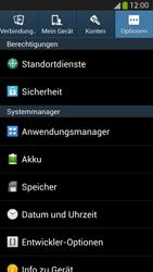 Samsung Galaxy S 4 Active - Apps - Eine App deinstallieren - Schritt 5