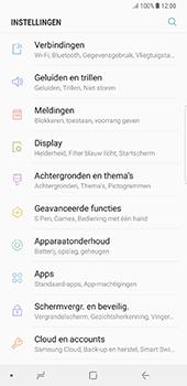 Samsung Galaxy Note 8 - Netwerk - Handmatig een netwerk selecteren - Stap 4