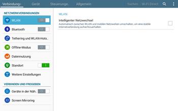 Samsung T535 Galaxy Tab 4 10.1 - Internet und Datenroaming - Manuelle Konfiguration - Schritt 4