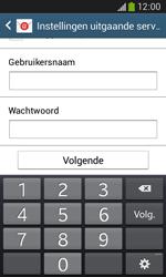 Samsung S7275 Galaxy Ace III - E-mail - handmatig instellen - Stap 15