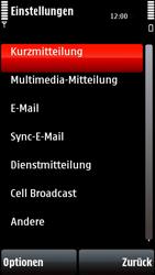 Nokia 5800 Xpress Music - SMS - Manuelle Konfiguration - Schritt 5