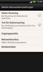 HTC Desire X - Netzwerk - Manuelle Netzwerkwahl - Schritt 5