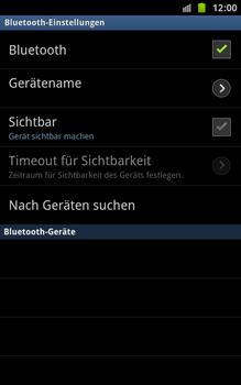 Samsung Galaxy Note - Bluetooth - Geräte koppeln - 9 / 13