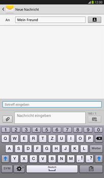 Samsung T211 Galaxy Tab 3 7-0 - MMS - Erstellen und senden - Schritt 13