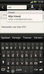 HTC T328e Desire X - E-mail - E-mails verzenden - Stap 6