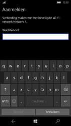 Microsoft Lumia 550 - wifi - handmatig instellen - stap 8