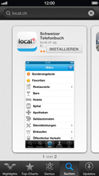 Apple iPhone 5 - Apps - Installieren von Apps - Schritt 6