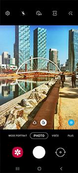 Samsung Galaxy A41 - Photos, vidéos, musique - Créer une vidéo - Étape 5