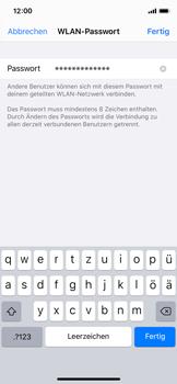 Apple iPhone X - iOS 13 - WiFi - So aktivieren Sie einen WLAN-Hotspot - Schritt 5
