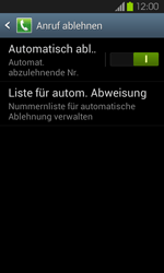 Samsung I9100 Galaxy S2 mit Android 4.1 - Anrufe - Anrufe blockieren - Schritt 7