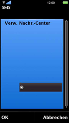 Sony Ericsson U5i Vivaz - SMS - Manuelle Konfiguration - Schritt 13