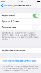 Apple iPhone 5c iOS 9 - Internet und Datenroaming - Manuelle Konfiguration - Schritt 5