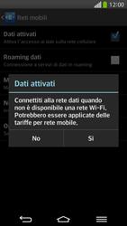 LG D955 G Flex - Internet e roaming dati - Come verificare se la connessione dati è abilitata - Fase 7