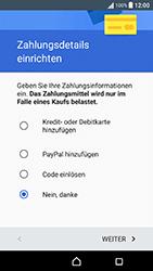 Sony Xperia X Performance - Apps - Konto anlegen und einrichten - 19 / 22
