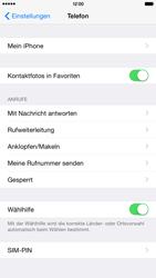 Apple iPhone 6 Plus iOS 8 - Anrufe - Rufumleitungen setzen und löschen - Schritt 4