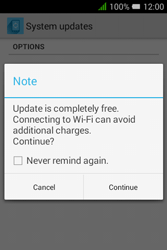 Alcatel Pixi 3 (3.5) - Software - Installing software updates - Step 7