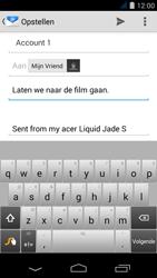 Acer Liquid Jade S - E-mail - e-mail versturen - Stap 7