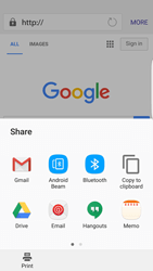 Samsung Galaxy S7 Edge - Internet and data roaming - Using the Internet - Step 19