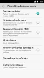 Huawei Ascend G6 - Réseau - Sélection manuelle du réseau - Étape 5