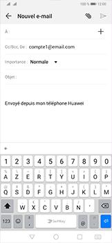 Huawei P30 Pro - E-mail - envoyer un e-mail - Étape 4