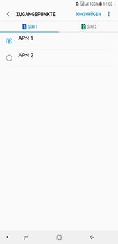 Samsung Galaxy A8 Plus (2018) - Internet - Apn-Einstellungen - 19 / 41