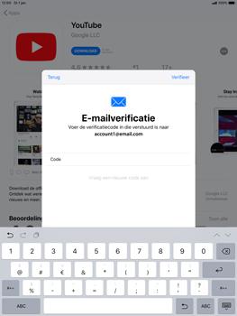 Apple ipad-air-10-5-inch-2019-model-a2123 - Applicaties - Account aanmaken - Stap 22