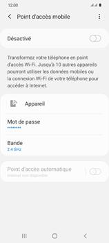 Samsung Galaxy S20 5G - WiFi - Comment activer un point d'accès WiFi - Étape 7