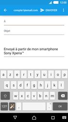 Sony Xperia M4 Aqua - E-mails - Envoyer un e-mail - Étape 5