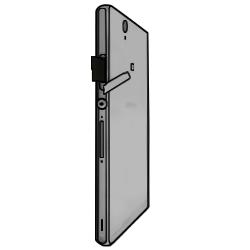 Sony Xperia Z - SIM-Karte - Einlegen - Schritt 4