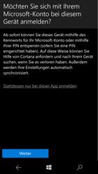 Microsoft Lumia 950 - Apps - Konto anlegen und einrichten - 18 / 20
