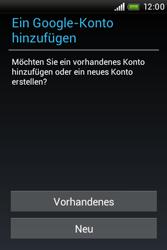 HTC A320e Desire C - Apps - Konto anlegen und einrichten - Schritt 4