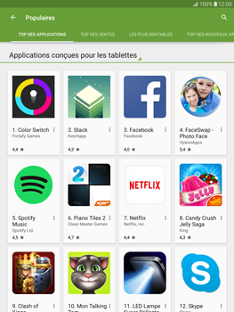 Samsung T815 Galaxy Tab S2 9.7 - Applications - Télécharger des applications - Étape 8